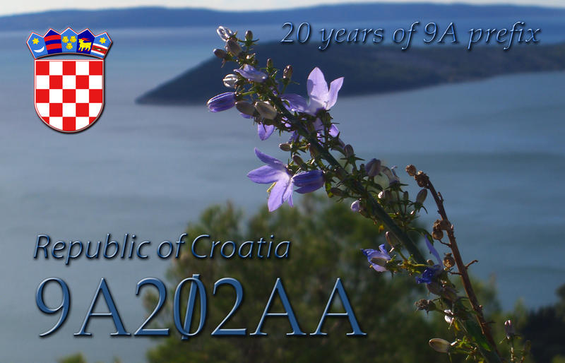 QSL image for 9A202AA