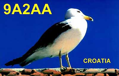 QSL image for 9A2AA