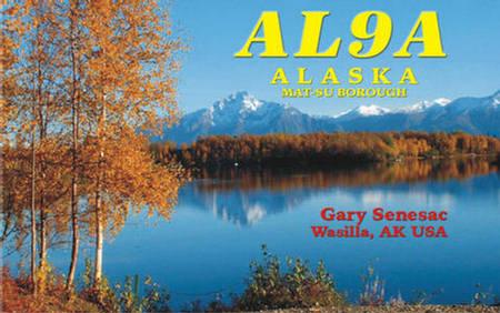 QSL image for AL9A