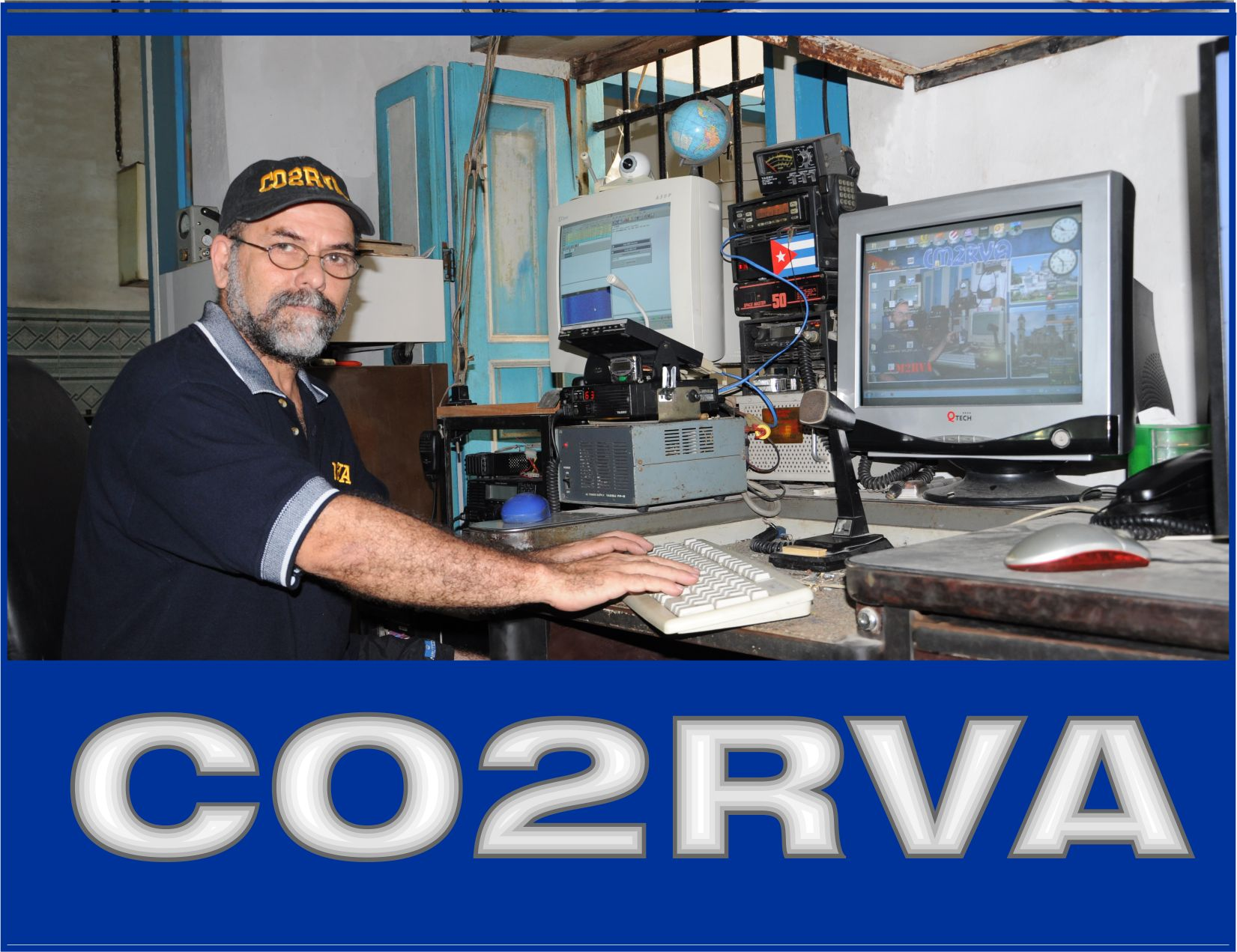 QSL image for CO2RVA