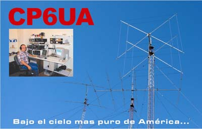 QSL image for CP6UA