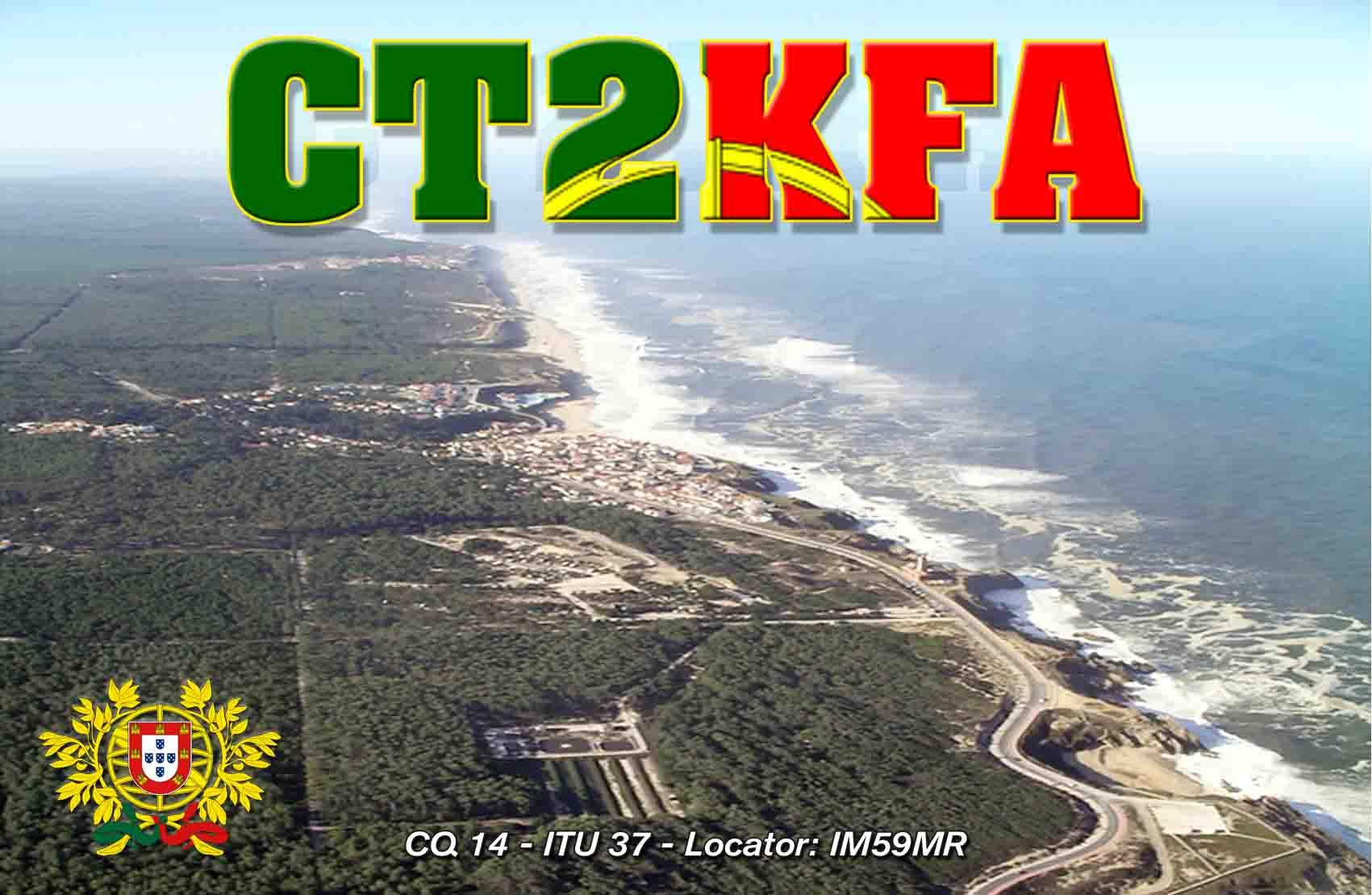QSL image for CT2KFA