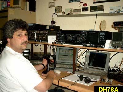 QSL image for DH7SA