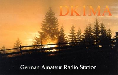 QSL image for DK1MA
