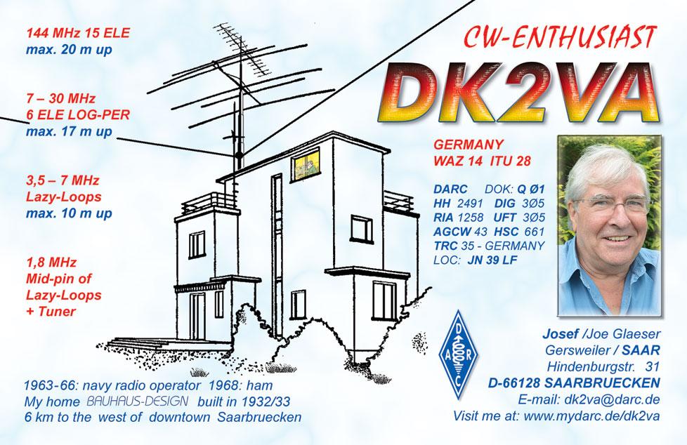 QSL image for DK2VA
