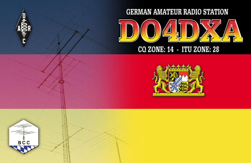 QSL image for DO4DXA
