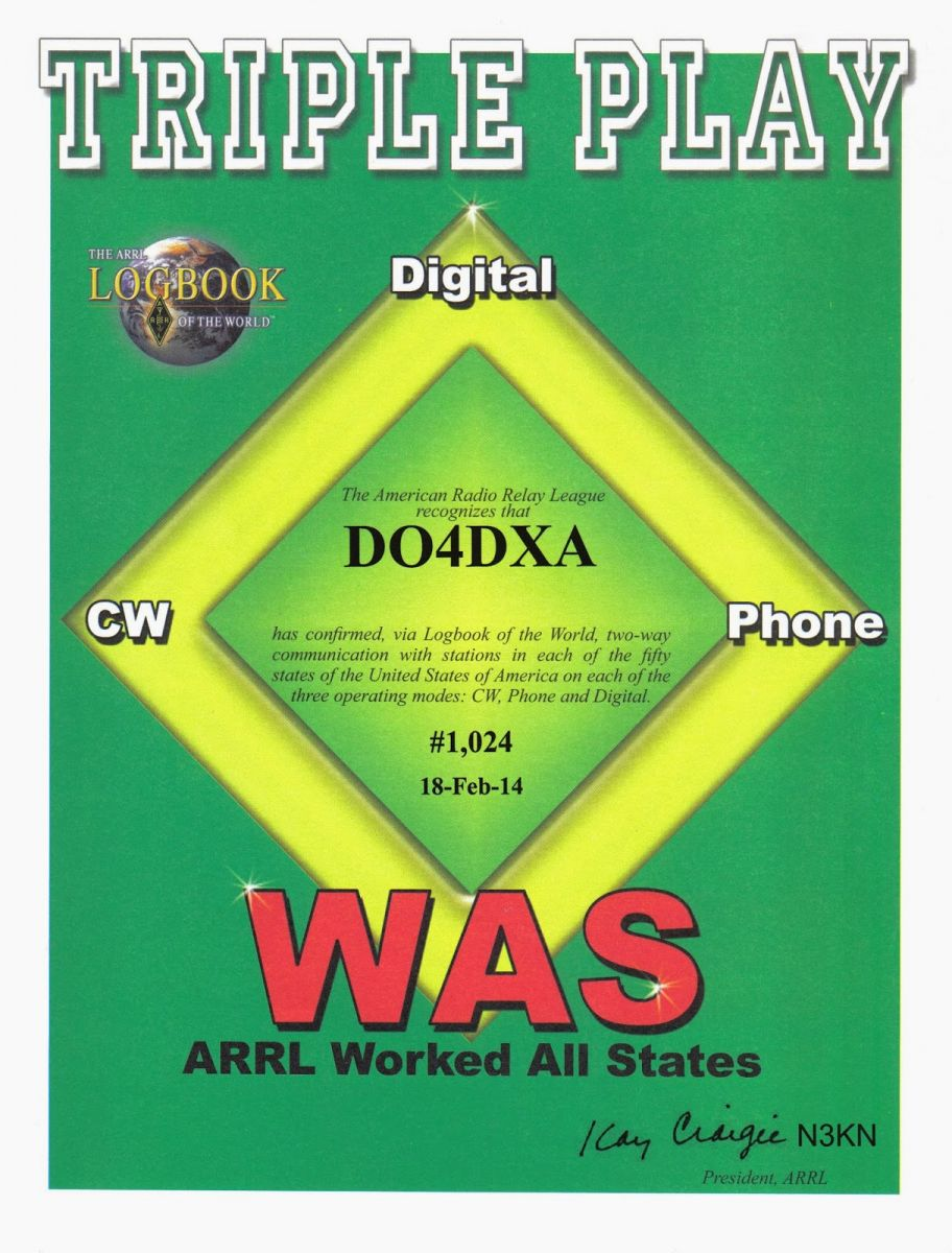 DO4DXA WAS Triple Play