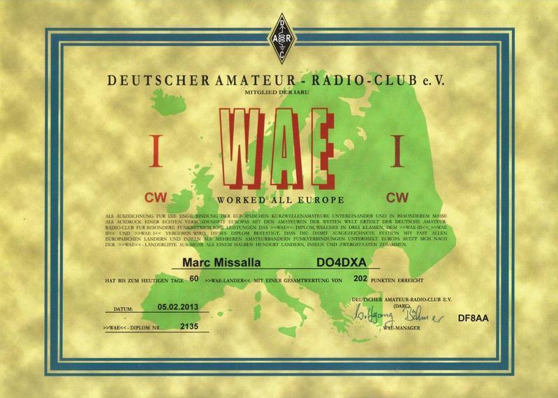 DO4DXA WAE CW