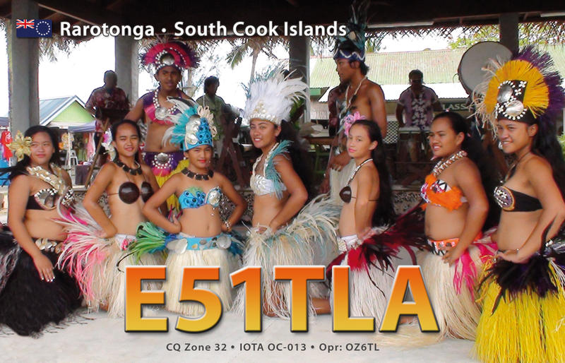 QSL image for E51TLA
