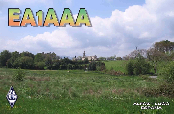 QSL image for EA1AAA