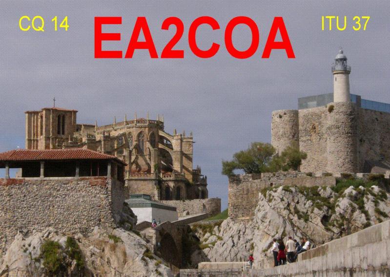 QSL image for EA2COA