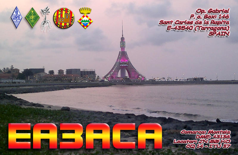 QSL image for EA3ACA