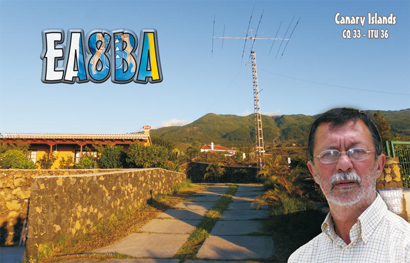 QSL image for EA8BA