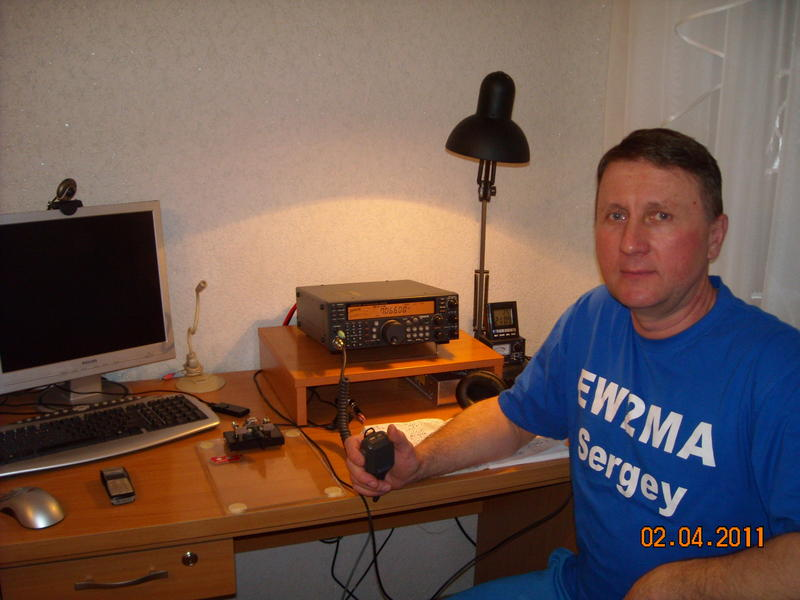 QSL image for EW2MA