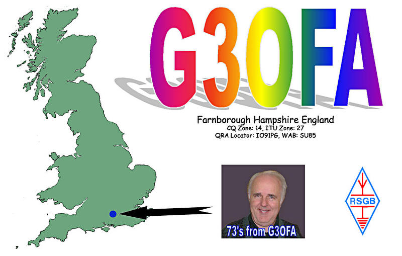 QSL image for G3OFA
