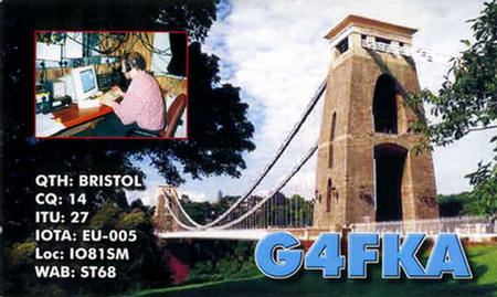 QSL image for G4FKA