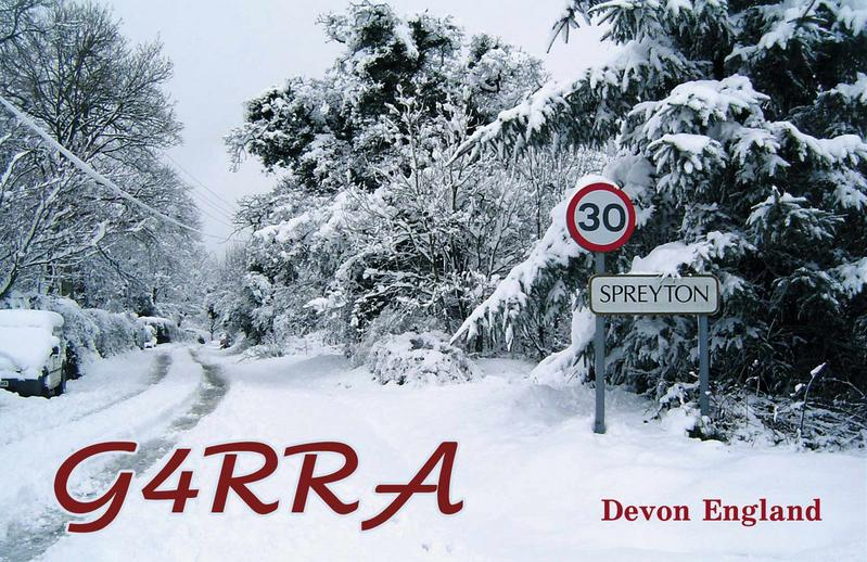 QSL image for G4RRA