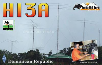 QSL image for HI3A