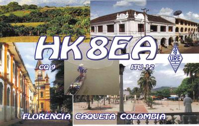 QSL image for HK8EA