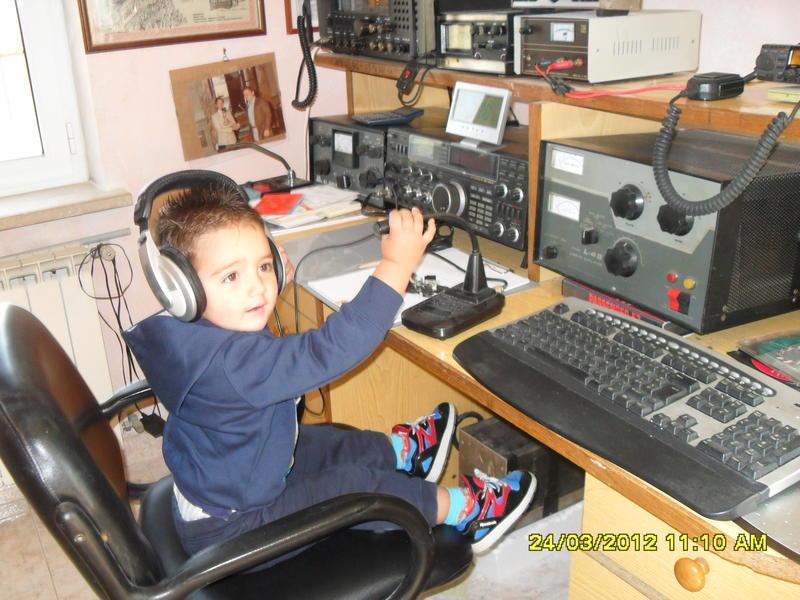 mio nipote futuro radioamatore