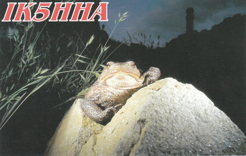 QSL image for IK5HHA