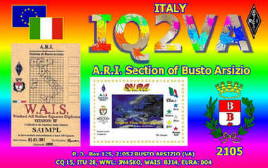 QSL image for IQ2VA