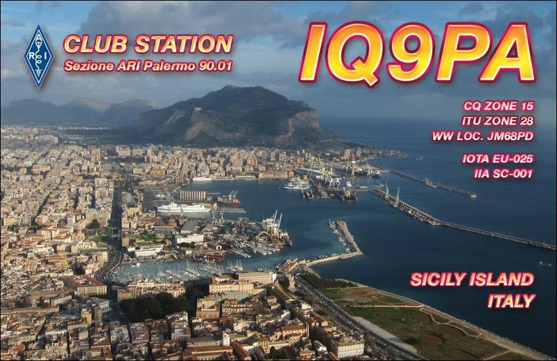 QSL image for IQ9PA