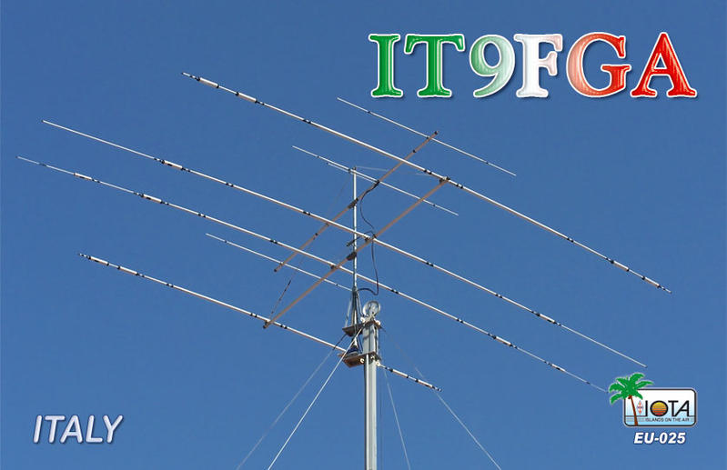 QSL image for IT9FGA