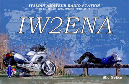 QSL image for IW2ENA