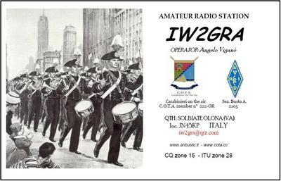QSL image for IW2GRA