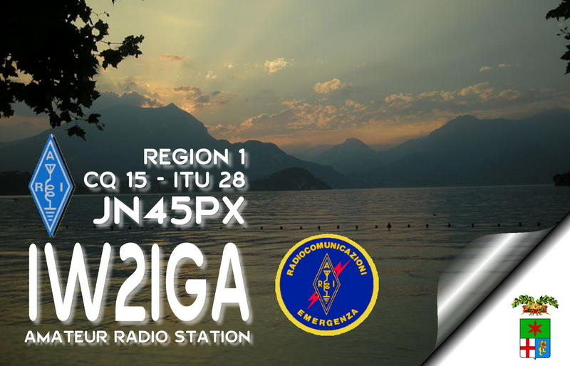 QSL image for IW2IGA