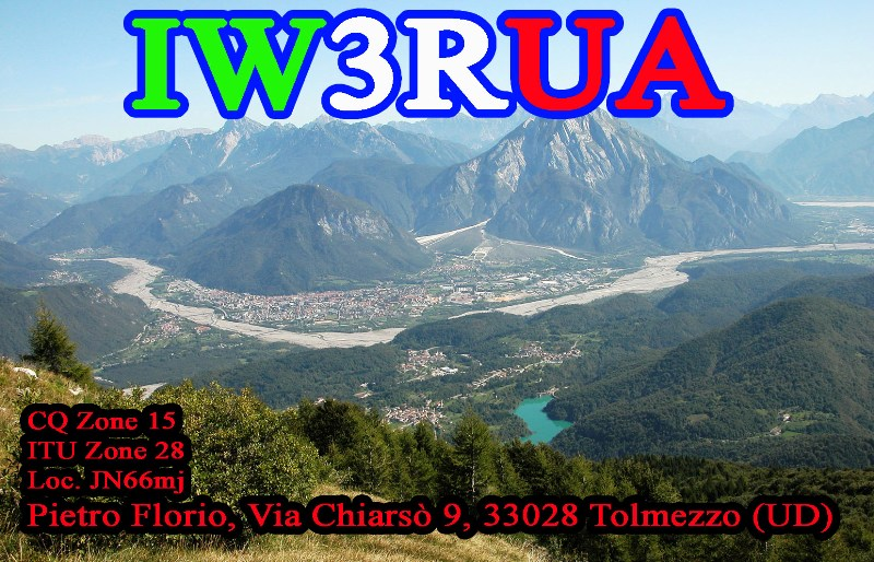 QSL image for IW3RUA
