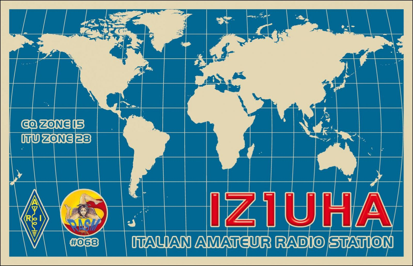 QSL image for IZ1UHA