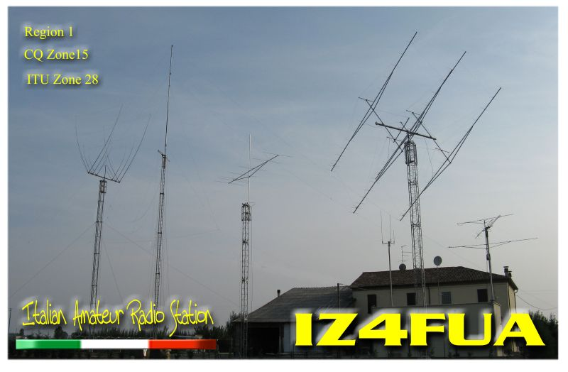 QSL image for IZ4FUA