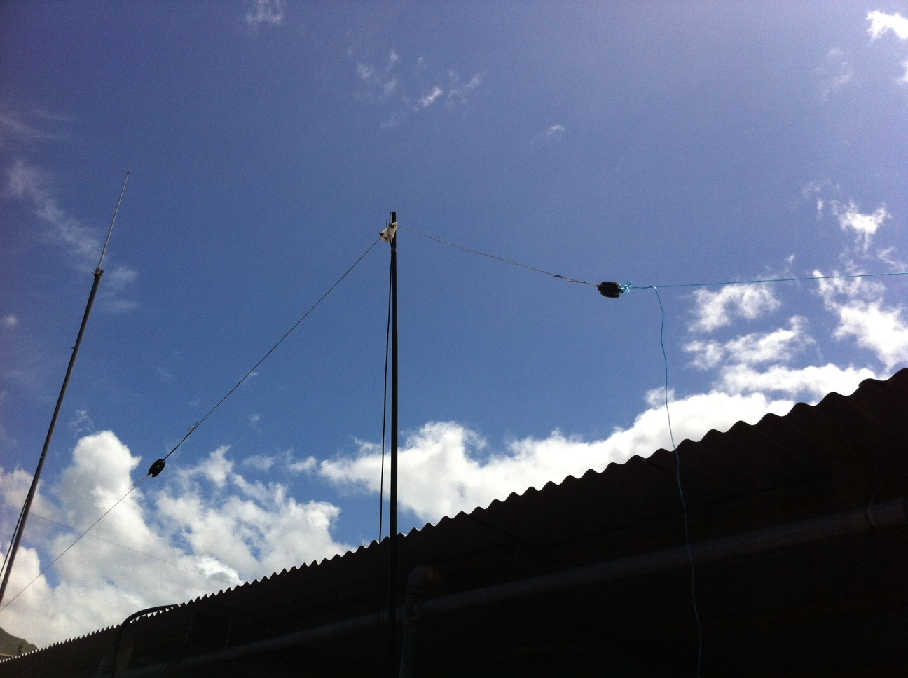 12. May 2014 QRV on 6m with dipole and IC-7000