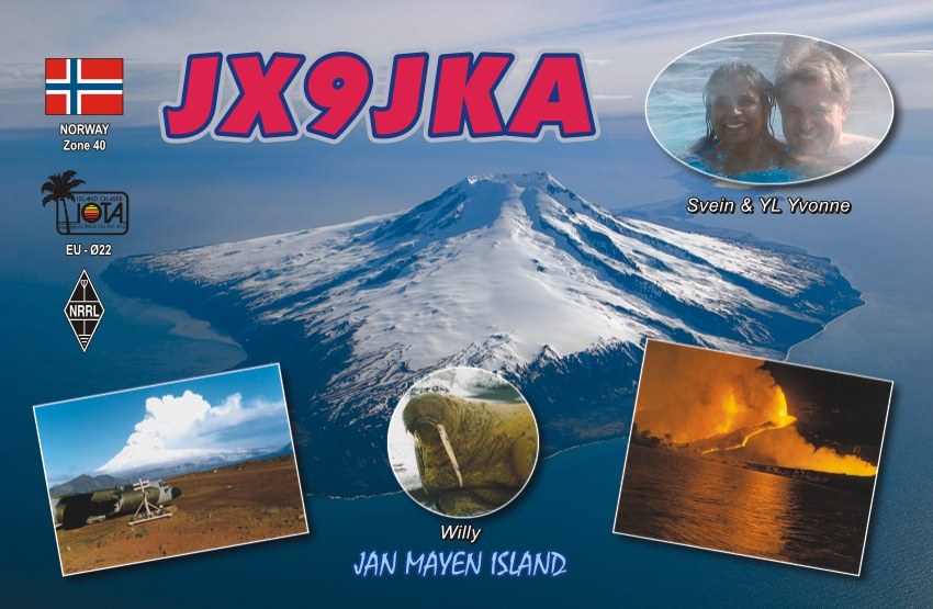 QSL image for JX9JKA