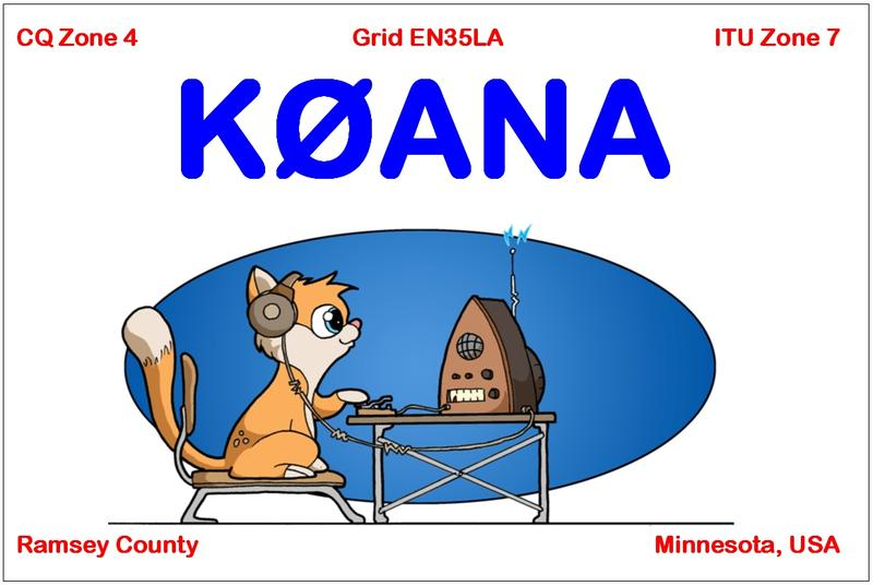 QSL image for K0ANA
