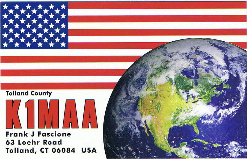 QSL image for K1MAA