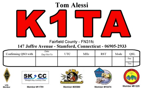 K1TA QSL card
