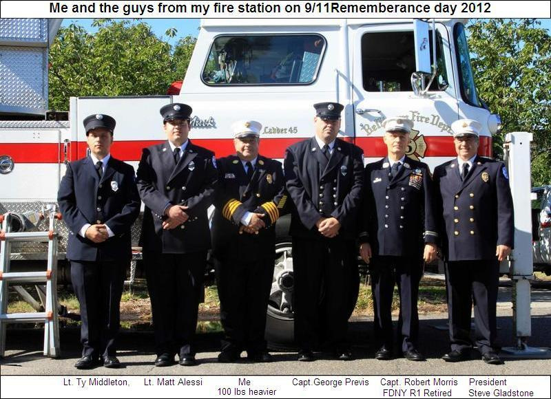 Me and the guys from my fire house.