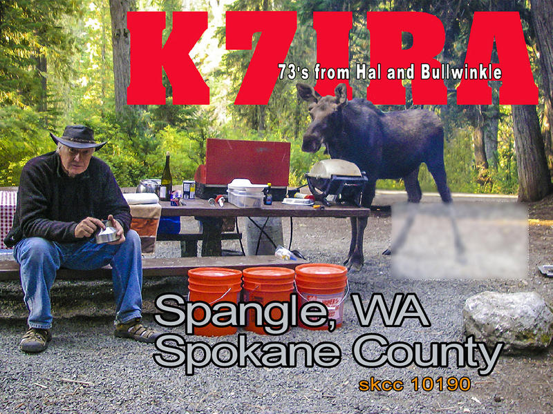 QSL image for K7IRA