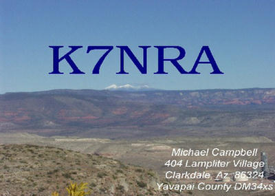 QSL image for K7NRA