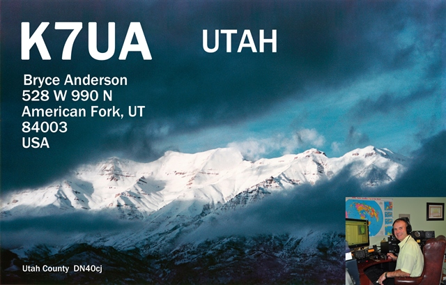 QSL image for K7UA