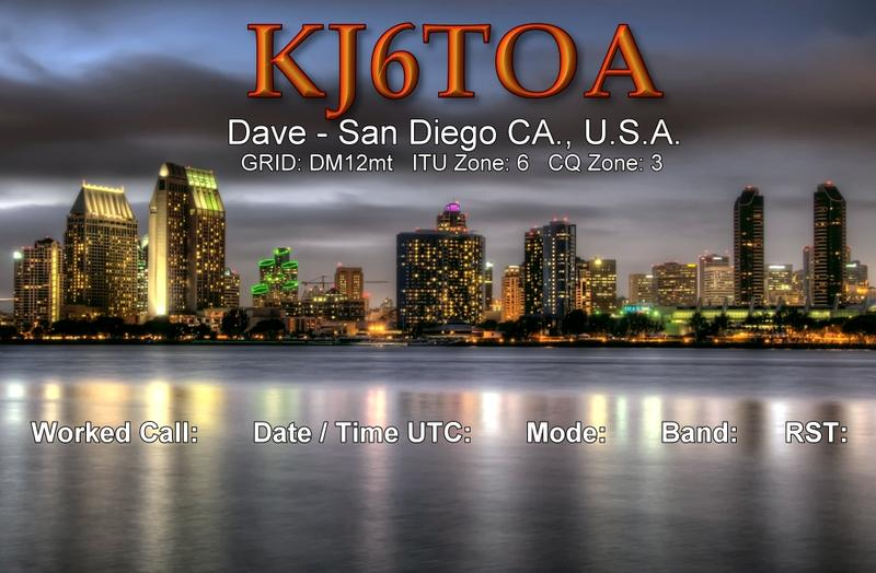 QSL image for KJ6TOA