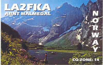 QSL image for LA2FKA