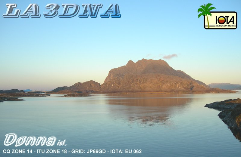 QSL image for LA3DNA