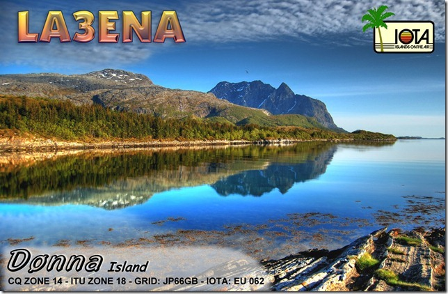 QSL image for LA3ENA