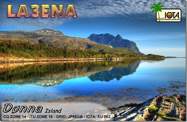 QSL image for LA3ENA