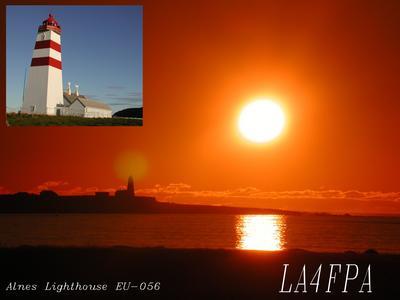 QSL image for LA4FPA