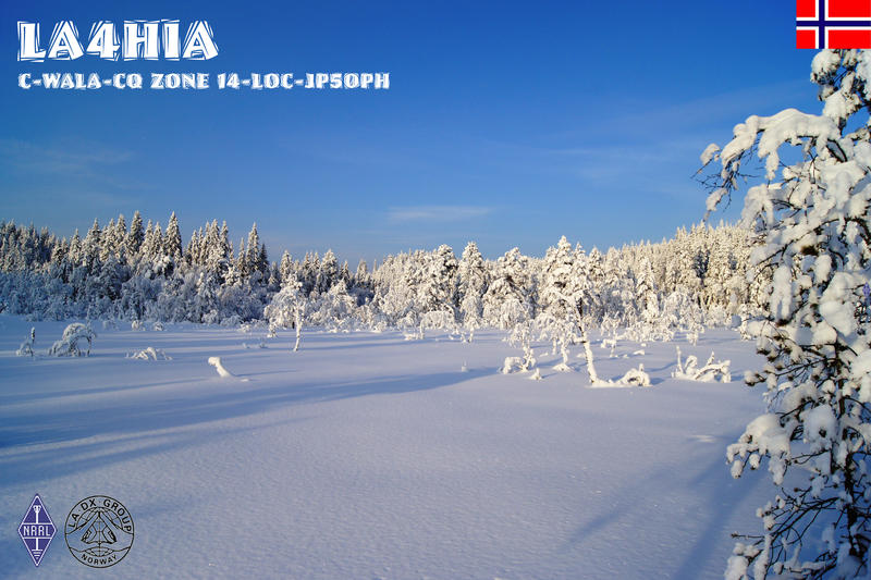 QSL image for LA4HIA